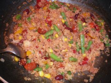 Couscous-Gemüsepfanne - Rezept
