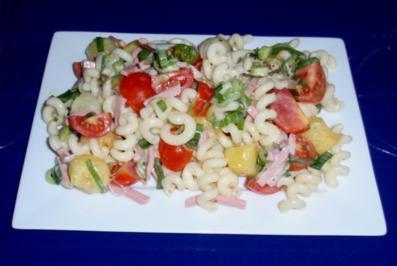 Fruchtiger Nudelsalat a la Linda - Rezept