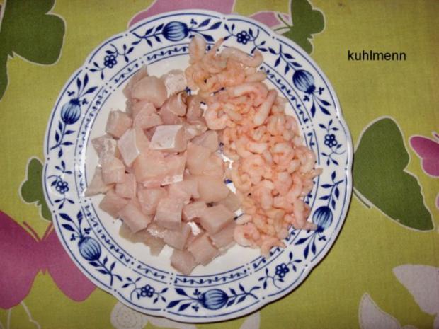 Soljanka mit Meeresfrüchten - Rezept - Bild Nr. 4