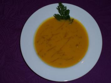 Rezept: Kürbissuppe