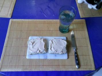 Abendbrot: Tomatenquark auf Toast... - Rezept