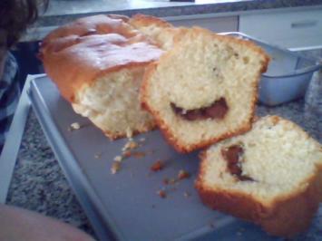 Nougat-Rührkuchen - Rezept