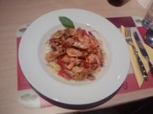 Spaghetti Frutti de Mare Speciale - Rezept