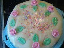 Marzipan-Torte - Rezept
