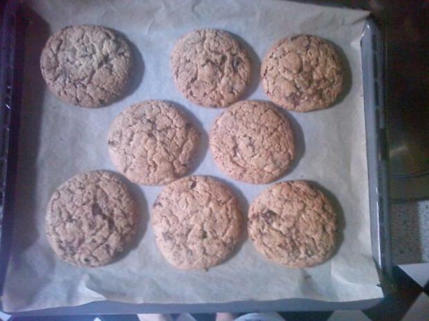 Chocolate Chip Cookies - Rezept - Bild Nr. 4
