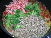 Conchiglie mit Venusmuscheln, Flusskrebsen und Broccoliröschen - Rezept