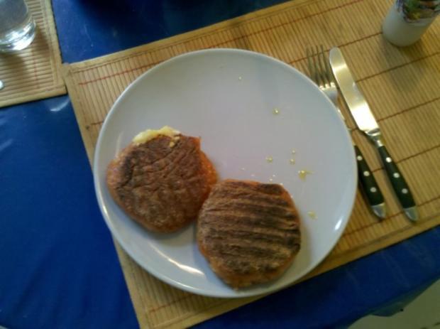Vegetarisch: Chilli-Bratlinge mit Tomaten-Eier-Nudelsalat - Rezept - Bild Nr. 9