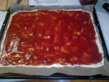 Pizza selbstgemacht - Rezept