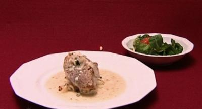 Schweinefilet mit Gorgonzola-Soße (Carlo von Tiedemann) - Rezept