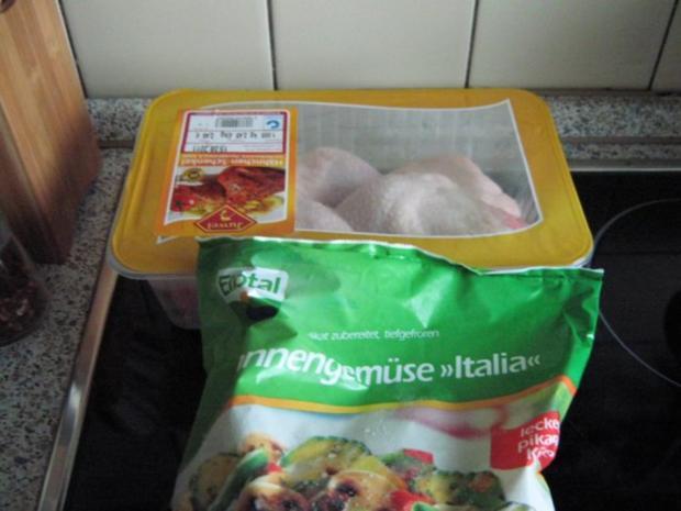 Hühnersuppe mitten im Sommer - daher mediterran angehaucht - Rezept - Bild Nr. 2