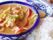 Rotes Thai-Curry - Rezept