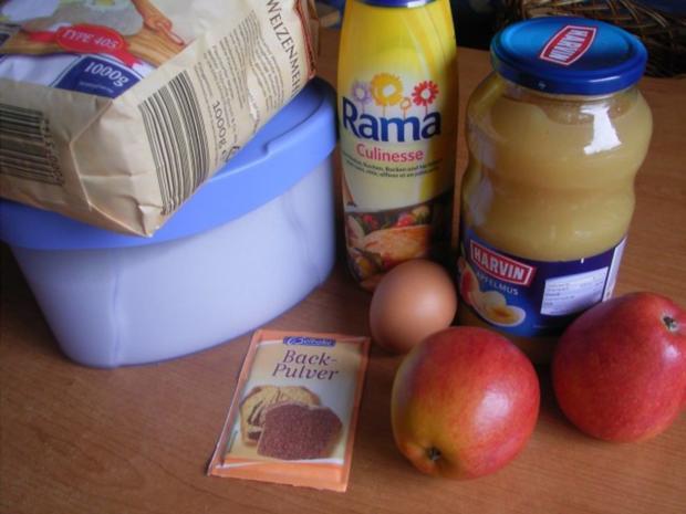 """""""Apfelmus""""-Kuchen - Rezept"""