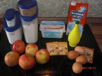 ;,Feiner Äpfelkuchen,, - Rezept