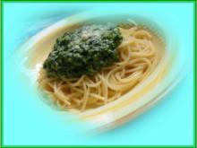 Pasta mit Spinat - Rezept