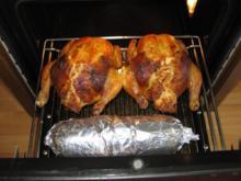 Gefüllte Hühner - Rezept
