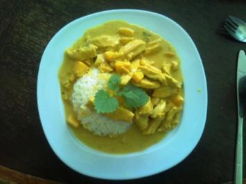 Michls Pfirsich-Curry mit Basmati-Reis - Rezept
