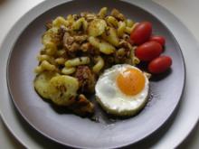 Gröstl mit Hühnchen - Rezept