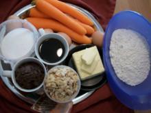 Möhrenkuchen trifft auf Kaffee und Schokolade... - Rezept