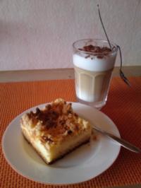 Gefüllter Streuselkuchen - Rezept