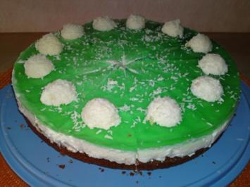 Rezept: Waldmeister-Kokos-Torte