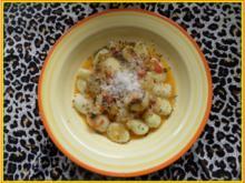 Gnocchi mit Tomaten-Buttersauce - Rezept