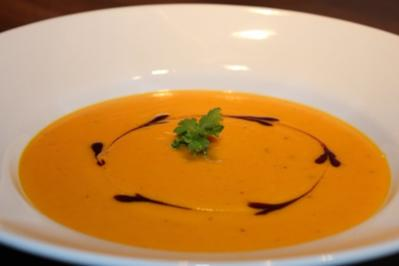 Kürbissuppe ( Kürbis Sandornsuppe ) - Rezept