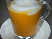Süßkartoffel-Cappuccino - Rezept