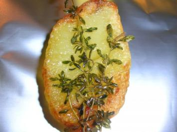 Hinguck-Kartoffeln (mit frischen Kräutern) - Rezept