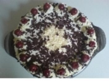 Schwarzwälder Kirschtorte - Rezept