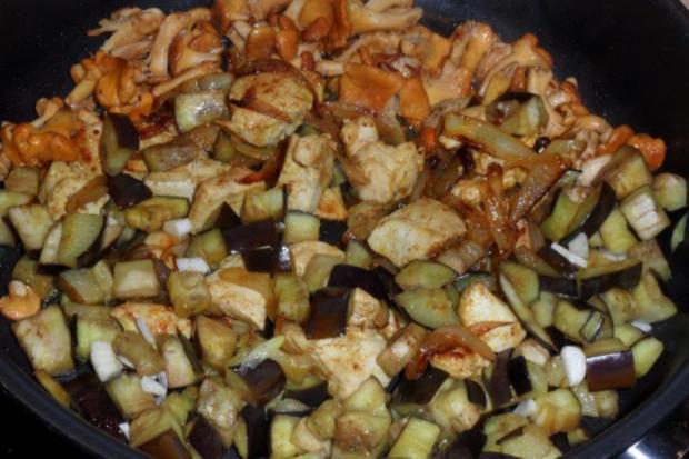 Schnitzel-Gemüse-Pilz-Pfanne - Rezept - Bild Nr. 5