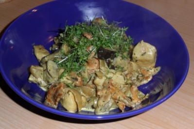 Schnitzel-Gemüse-Pilz-Pfanne - Rezept