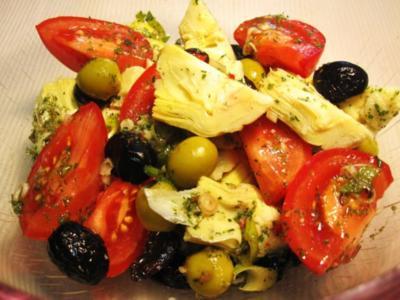 Mediterraner Salat ... - Rezept