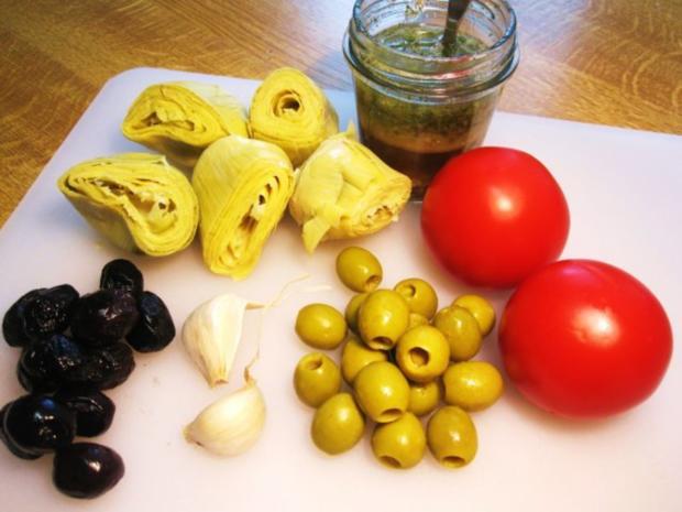 Mediterraner Salat ... - Rezept - Bild Nr. 3