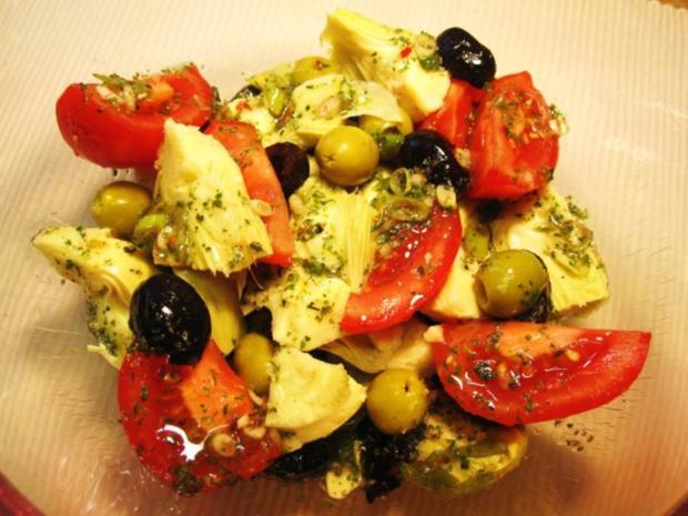 Mediterraner Salat ... - Rezept - Bild Nr. 4