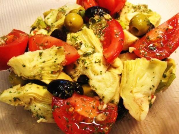 Mediterraner Salat ... - Rezept - Bild Nr. 5