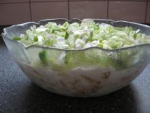 Vegetarischer Schichtsalat - Rezept