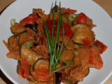 Gemüse # mediterran - pikant # - Rezept
