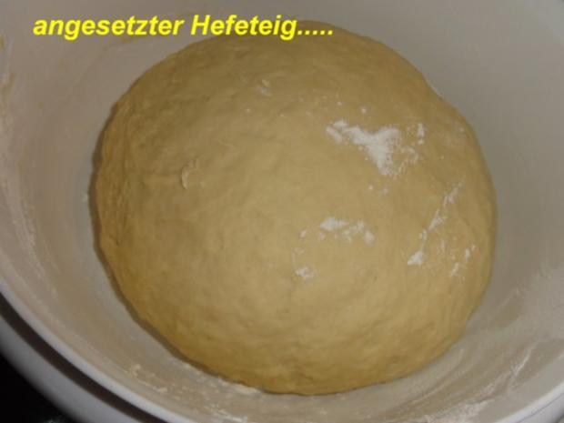 Hefe:    APFELKUCHEN hinter GITTER - Rezept - Bild Nr. 3