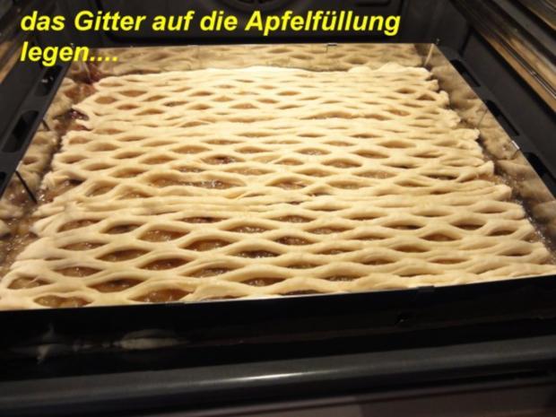 Hefe:    APFELKUCHEN hinter GITTER - Rezept - Bild Nr. 9