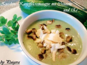 Kartoffel-Zucchinicreme Suppe - Rezept