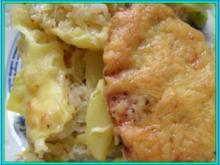 Gratinierter Sauerkraut-Auflauf - Rezept