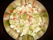 Blumenkohl-Brokkoli Salat - Rezept