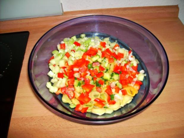 leichter Tortellinisalat - Rezept - Bild Nr. 7