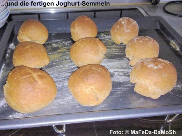 Joghurt-Semmeln - Rezept - Bild Nr. 3