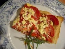 Tomatentarte - Rezept