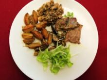 In Knoblauch und Rosmarin einglegte Ochsnfetz´n (Doreen Dietel) - Rezept