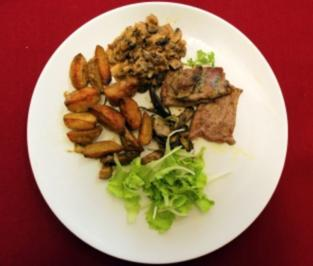 Rezept: In Knoblauch und Rosmarin einglegte Ochsnfetz´n (Doreen Dietel)