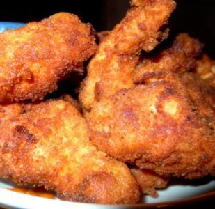 Scharfe Hähnchen-Nuggets - Rezept