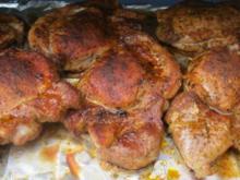 Scharf marinierte Cordonbleu-Nackensteaks vom Grill - Rezept