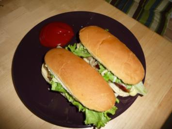 Hot Dogs - Rezept